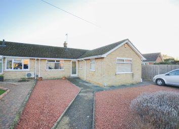 Thumbnail 3 bed semi-detached bungalow for sale in Dale Close, Orton Waterville, Peterborough