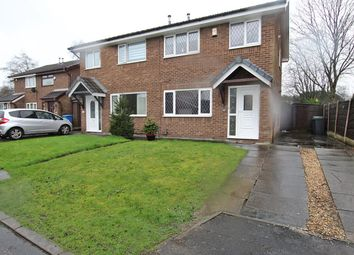 Thumbnail 3 bed semi-detached house for sale in Dundee Close, Fearnhead, Warrington