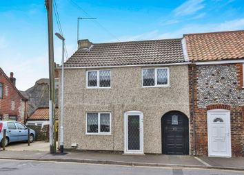 Thumbnail 2 bed end terrace house for sale in Beach Road, Caister-On-Sea, Great Yarmouth, Norfolk