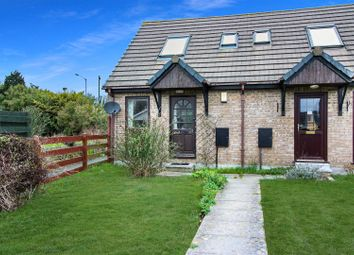 Thumbnail 1 bed end terrace house for sale in Willow Close, Quintrell Downs, Newquay