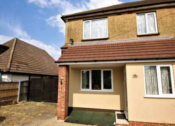 Thumbnail 3 bed semi-detached house to rent in Blackshots Lane, Grays
