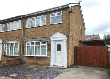 Thumbnail 3 bedroom semi-detached house to rent in Goodwood, Scunthorpe