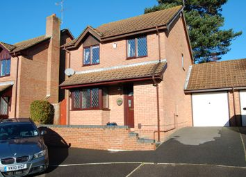 Thumbnail 4 bed detached house to rent in Denham Close, Poole