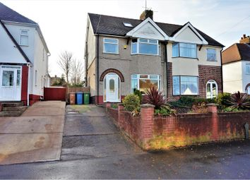 Thumbnail 4 bedroom semi-detached house for sale in Southwell Road West, Mansfield