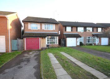 Thumbnail 3 bed detached house for sale in Harrier Close, Woodley, Reading