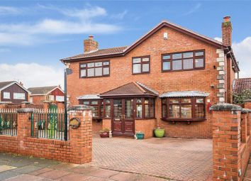 Thumbnail 4 bed detached house for sale in Easedale Drive, Southport