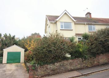 Thumbnail 4 bed semi-detached house for sale in Clifton Road, Paignton