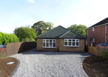 Thumbnail 3 bed detached bungalow for sale in Talbot Street, Whitwick, Leicestershire