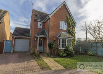 Thumbnail 3 bed detached house for sale in Johnson Way, Lowestoft