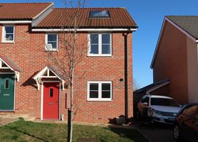 Thumbnail 2 bedroom semi-detached house for sale in Strachey Close, Saffron Walden