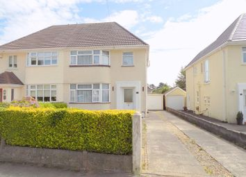 Thumbnail 3 bed semi-detached house for sale in Wimmerfield Avenue, Killay, Swansea
