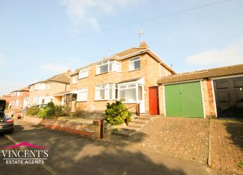 Thumbnail 3 bedroom semi-detached house for sale in Crowhurst Drive, Leicester