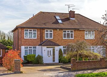 Thumbnail 4 bedroom semi-detached house for sale in The Ridgeway, St Albans, Hertfordshire