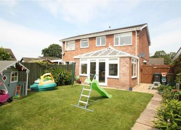 Thumbnail 3 bed semi-detached house for sale in Rosehill Drive, Whittington, Oswestry