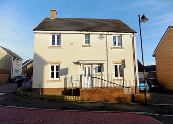 Thumbnail 4 bed detached house for sale in Trem Y Rhedyn, Coity, Bridgend .