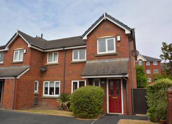 Thumbnail 3 bedroom end terrace house for sale in Eastgate Close, St Annes