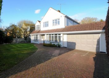 Thumbnail 4 bedroom detached house to rent in Harpesford Avenue, Virginia Water