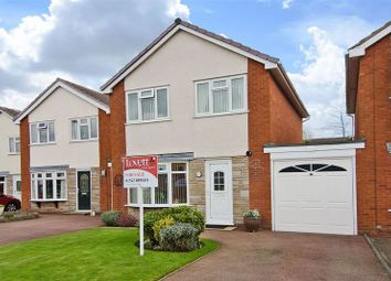 Thumbnail 3 bed detached house for sale in Leam Drive, Burntwood
