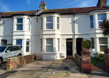 Thumbnail 4 bed terraced house to rent in Windsor Road, Worthing