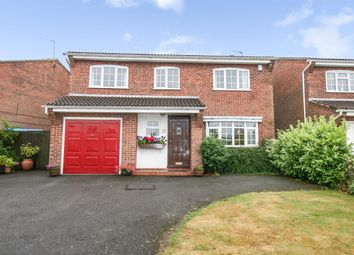 Thumbnail 5 bed detached house for sale in Meadow Way, Groby, Leicester