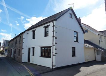 Thumbnail 3 bed end terrace house for sale in The Promenade, Brecon