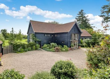 Thumbnail 5 bed barn conversion for sale in The Green, Hessett, Bury St. Edmunds