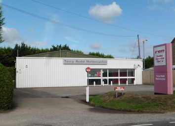 Thumbnail Commercial property for sale in Terry Rudd Motorcycles Ltd, Fen Road, Holbeach, Spalding