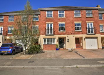 Thumbnail 4 bed terraced house for sale in Cambrian Gardens, Marshfield, Cardiff