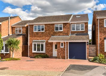 Thumbnail 5 bed detached house for sale in Globe Farm Lane, Blackwater, Camberley