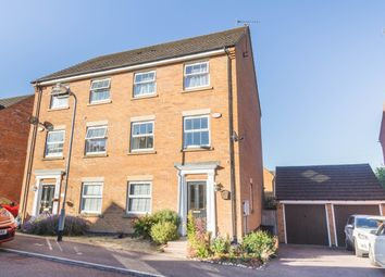 Thumbnail 4 bed semi-detached house for sale in Presland Way, Irthlingborough, Wellingborough