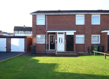 Thumbnail 2 bed flat for sale in Longdyke Drive, Carlisle, Cumbria