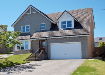 Thumbnail 5 bedroom detached house for sale in Strone Crescent, Alford