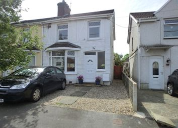 Thumbnail 3 bed semi-detached house for sale in St Pauls Terrace, Garden Village, Gorseinion, Swansea.
