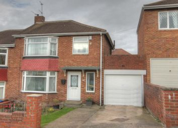 Thumbnail 3 bedroom semi-detached house for sale in Bellister Grove, Fenham, Newcastle Upon Tyne