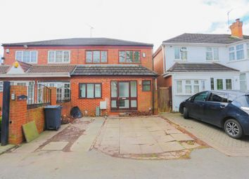 Thumbnail 3 bed semi-detached house for sale in Wood Lane, Birmingham, West Midlands