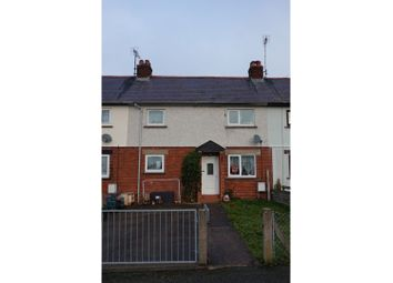 Thumbnail 2 bed terraced house for sale in Maes Hyfryd, Corwen