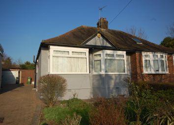 Thumbnail 2 bedroom semi-detached bungalow for sale in Hammondstreet Road, Cheshunt, Waltham Cross