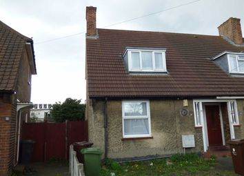Thumbnail 2 bedroom end terrace house for sale in Arnold Road, Dagenham, Essex