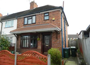 Thumbnail 3 bedroom end terrace house for sale in Cobham Road, Wednesbury