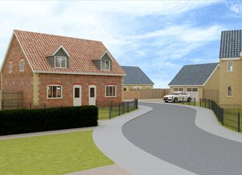 Thumbnail 2 bed semi-detached house for sale in Lopham Road, East Harling, Norwich