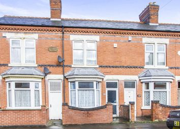 Thumbnail 3 bedroom terraced house for sale in Gipsy Road, Leicester