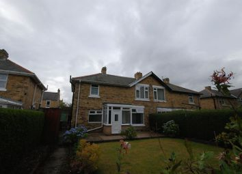 Thumbnail 3 bed semi-detached house for sale in Ashbourne Crescent, Ashington