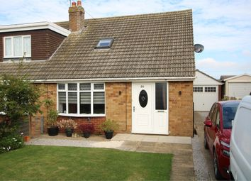 Thumbnail 3 bed semi-detached bungalow for sale in 20 Ryecroft Drive, Withernsea, East Riding Of Yorkshire