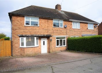 Thumbnail 3 bed semi-detached house for sale in Mount Road, Lanesfield, Wolverhampton