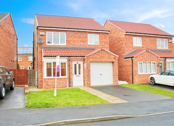 Thumbnail 3 bed detached house for sale in Orchid Road, Hartlepool