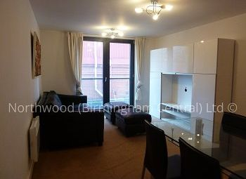 Thumbnail 1 bed flat to rent in Southside St John's Walk, Birmingham