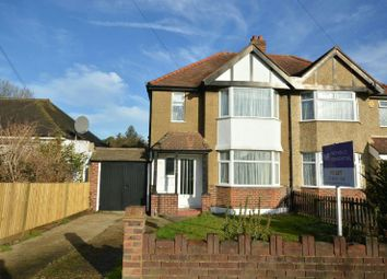 Thumbnail 3 bed semi-detached house to rent in Somerset Avenue, Chessington