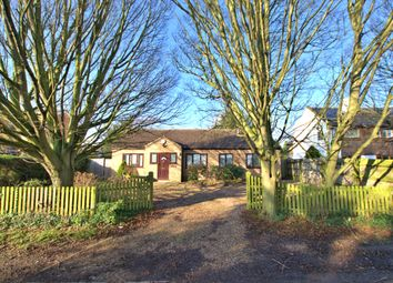 Thumbnail 3 bed detached bungalow to rent in New Road, Haslingfield, Cambridge