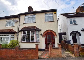 Thumbnail 3 bed semi-detached house for sale in Cross Road, Watford, Hertfordshire