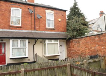 Thumbnail 2 bedroom end terrace house for sale in Eva Road, Winson Green, Birmingham
